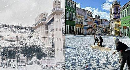 Há risco de nevar em Salvador? Veja explicação meteorológica