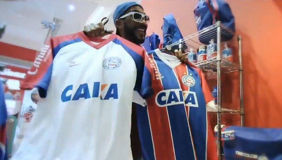 Bahia lança camisa oficial a preço popular (Reprodução EC Bahia) 8ab1fba93356c