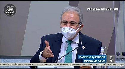CPI da covid-19: Queiroga se recusa a falar sobre cloroquina e provoca bate boca