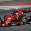 Carro da Ferrari para temporada 2020 da Fórmula 1