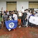 Estudantes da UFRB e liderenças da sociedade civil comemoraram a vitória da universidade