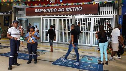 Metrô de Salvador sofre pane elétrica e fecha 8 estações nesta terça (26)