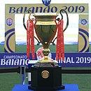 Troféu do Campeonato Baiano conquistado pelo Bahia em 2019
