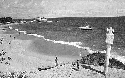 Porto da Barra com Forte de Santa Maria, em 1981