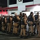 Policiais militares já estão no Barradão