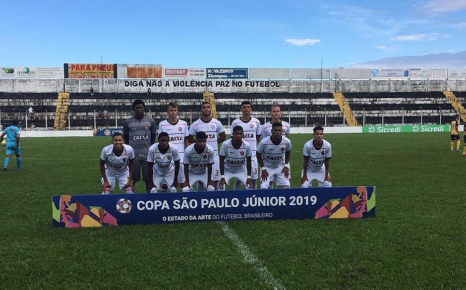 Vitória decepciona e perde na estreia da Copa São Paulo. (Foto  Divulgação) 4c7682e2d91d2