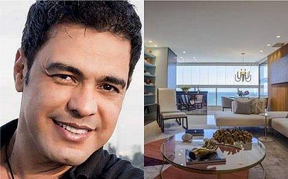 Zezé Di Camargo finaliza reforma em duplex de luxo em SC; veja fotos e vídeo