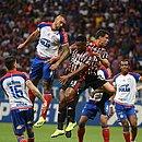 Tricolor não conseguiu furar o bloqueio do São Paulo e amargou o empate na Fonte Nova
