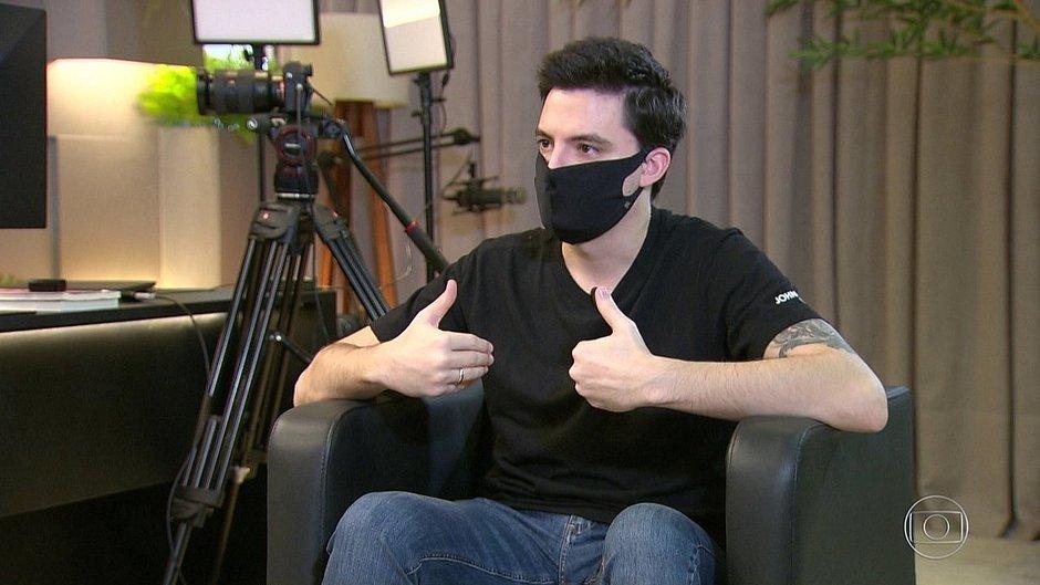 Homem que ameaçou Felipe Neto participou de ataque contra o STF
