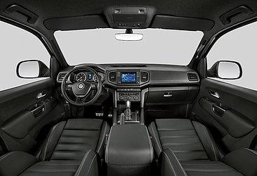 A cabine do utilitário da VW não teve alterações