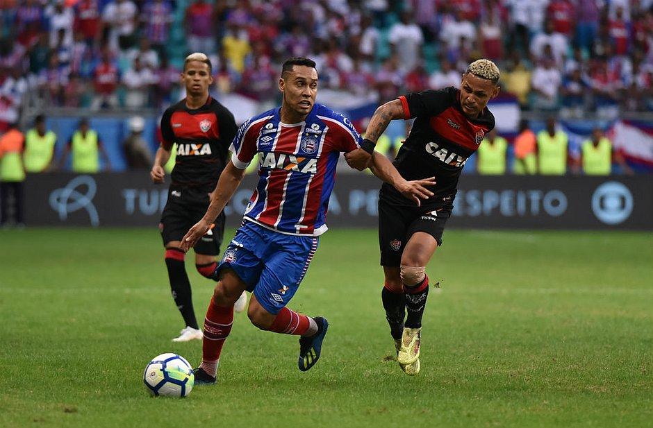 Bahia de Edigar Junio deixa o Vitória de Neilton para trás no ranking  (Betto Jr. CORREIO) e6cd5617e6668