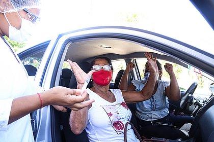 Vacinômetro: Bahia tem 1 milhão e 936 mil vacinados; 439 mil já com 2ª dose