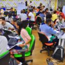 As oito startups vão passar por mentorias e capacitações ao longo de 12 semanas