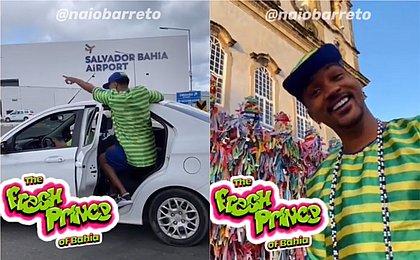 'Will Smith baiano' grava versão de 'Um Maluco no Pedaço' em Salvador; assista