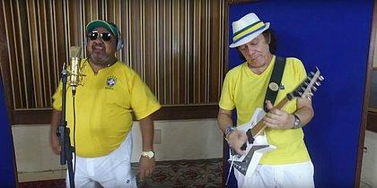 Raimundo Lima e Armandinho estão juntos no DVD É Hexa!