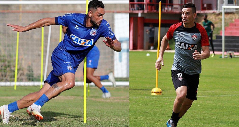 Gilberto e Ruy são os principais candidatos a heróis no Ba-Vi (Felipe  Oliveira   EC Bahia e Mauricia da Matta   EC Vitória) 91547e3a64083