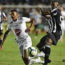 Santos e Ceará fizeram um jogo disputado na Vila Belmiro