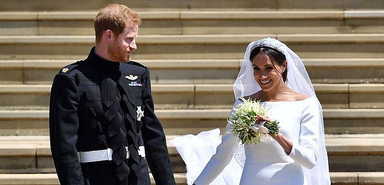 Casamento de Harry e Meghan Markle é marcado por quebras de tradições; veja gifs