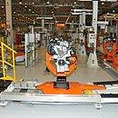 Além da montagem de automóveis, Camaçari fabricava motores