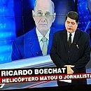Datena anuncia a morte do amigo e jornalista Ricardo Boechat