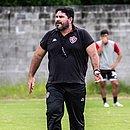 Técnico Eduardo Barroca comandou mais um treino do Vitória