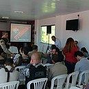 Representantes da PM, prefeitura e Vitória se reuniram no Barradão para acertar os detalhes do clássico