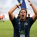 Dado lembrou do título da Copa do Nordeste e da luta contra o rebaixamento no ano passado