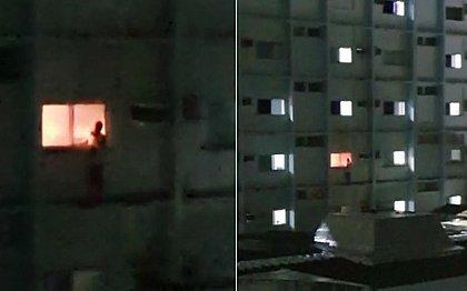 Incêndio atinge um dos leitos do Hospital Espanhol; veja vídeo