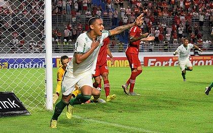 Leandro Silva atuou em oito partidas nesta temporada pelo América-MG; ano passado, fez quatro gols