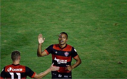 Gabriel Bispo marcou o segundo gol do Vitória sobre o Rio Branco