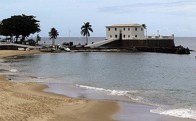 O Porto da Barra segue com acesso proibido em todos os dias da semana.
