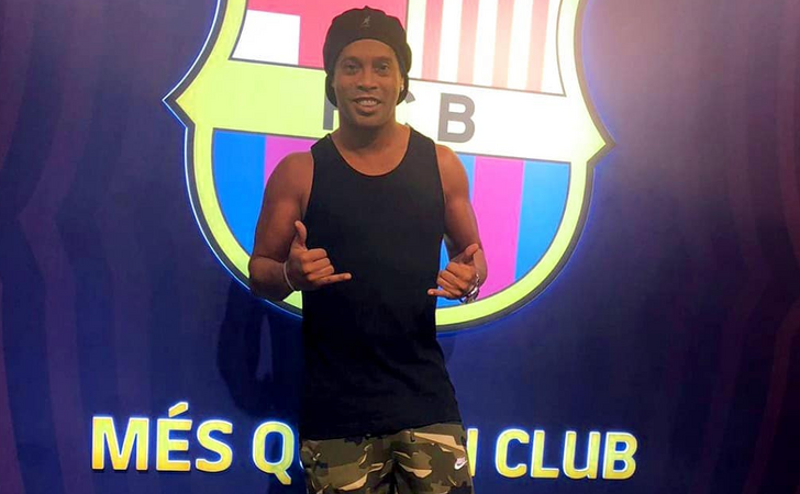 Barcelona vai reduzir participação de Ronaldinho Gaúcho após apoio a Bolsonaro