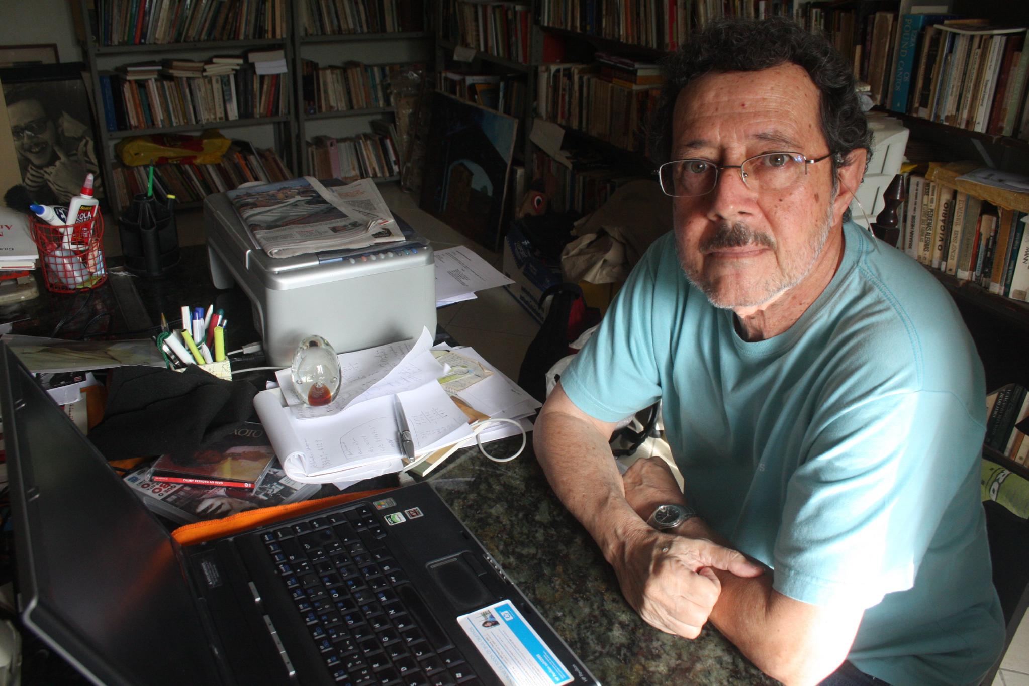 Ruy Espinheira Filho é o homenageado da Flica