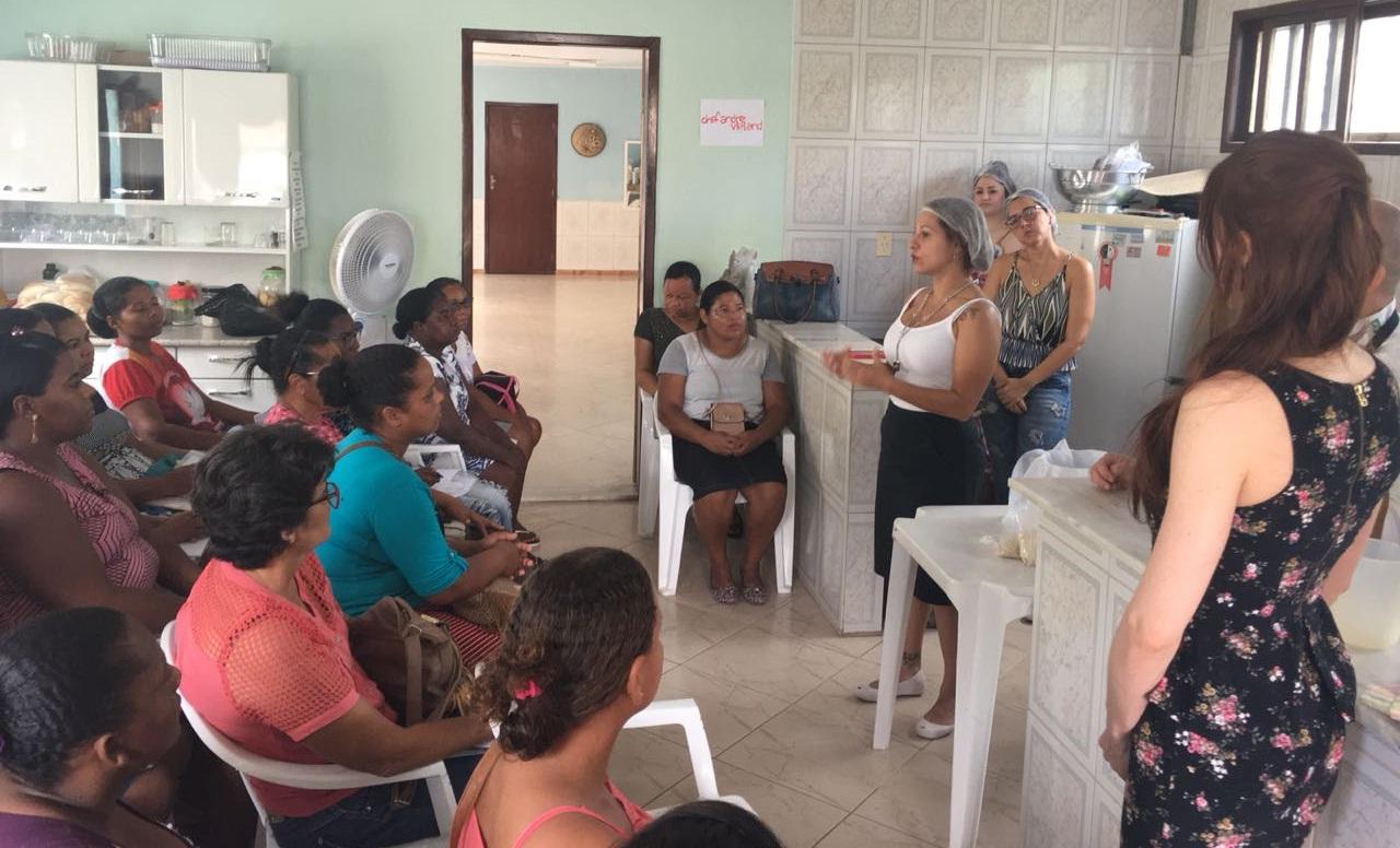 Capacitação realizada pela HSI para fornecedores da agricultura familiar e economia solidária