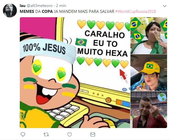 Temporada De Memes Da Copa Está Finalmente Aberta Jornal