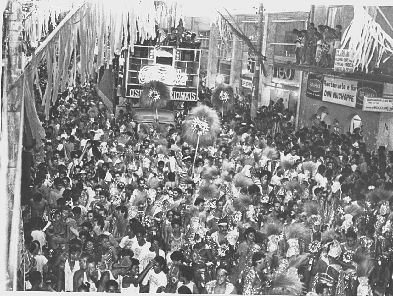 Os Internacionais no Carnaval 1988