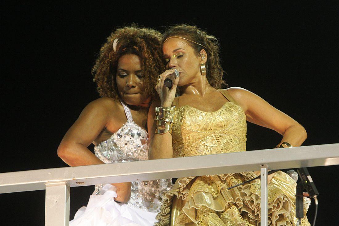 Com Daniela Mercury no Carnaval 2009
