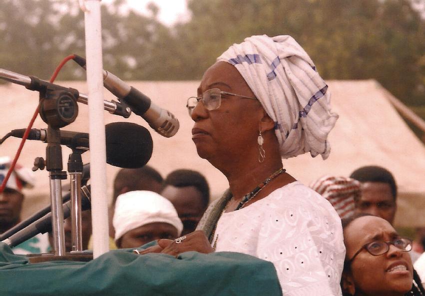 Makota Valdina no Dia Nacional de Celebração do Vodum Benin