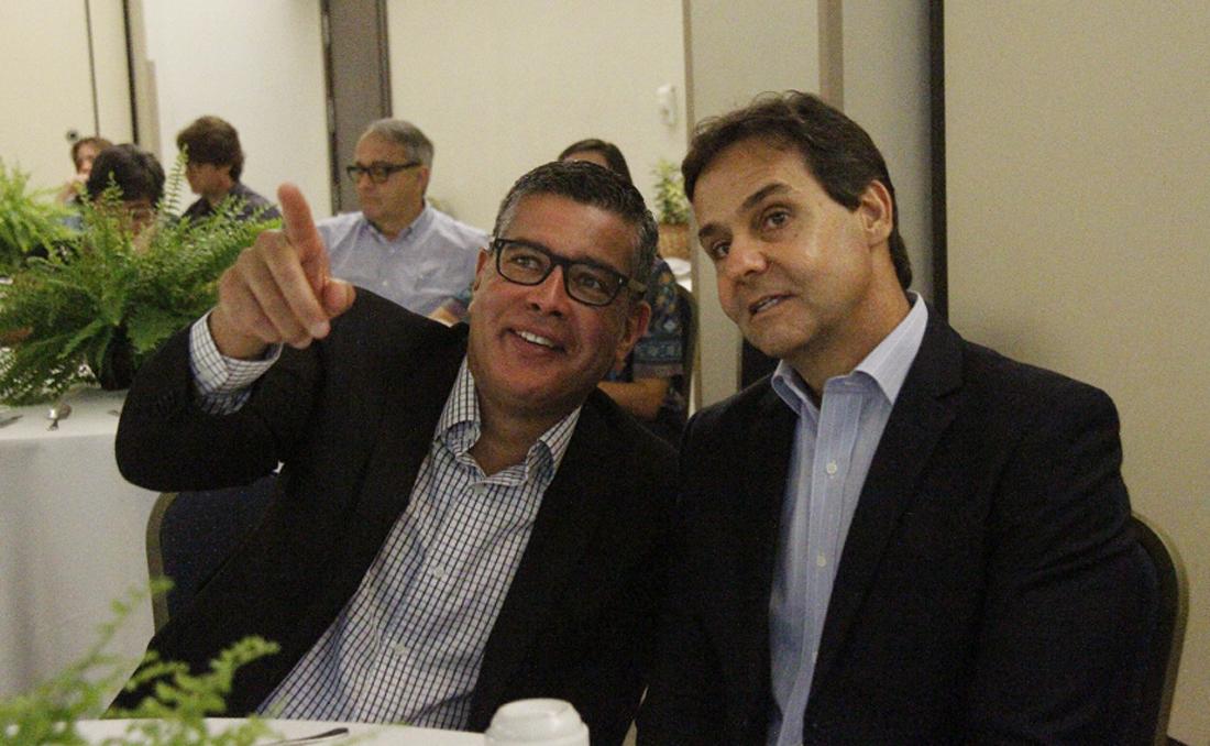 Américo Neto (Via Midia) e Claudio Cunha (Ademi)