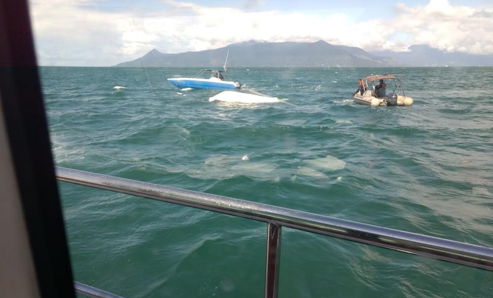 Resultado de imagem para Morre apresentadora Caroline Bittencourt após acidente de barco no litoral paulista