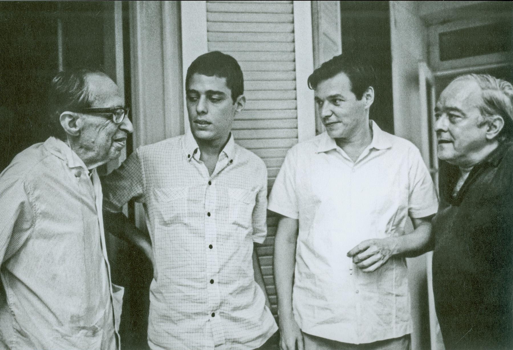 Manuel Bandeira, Chico, Toquinho e Vinicius