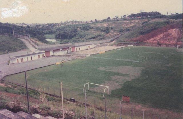 Em 1991 não havia nem sinal do centro de treinamentos
