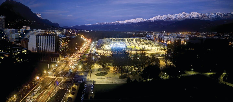 Stade des Alpes: localizado em Grenoble, é o estádio da estreia da seleção brasileira e menor desta Copa, com capacidade para 20 mil torcedores