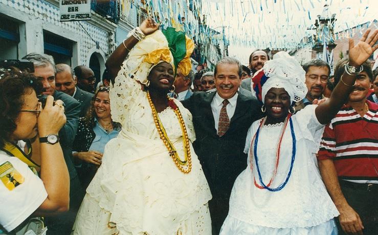 O ex-governador César Borges, em 1998