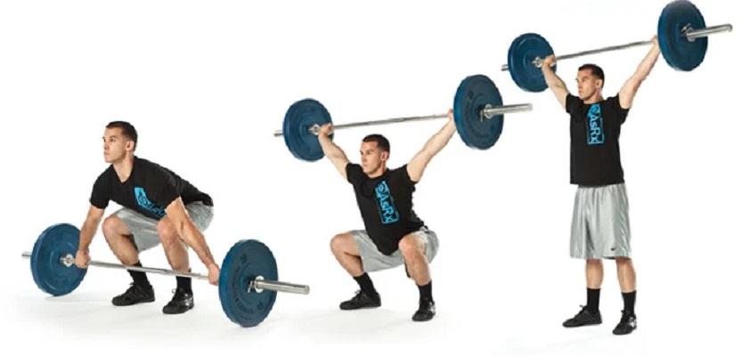 Snatch é um dos movimentos mais conhecidos do CrossFit