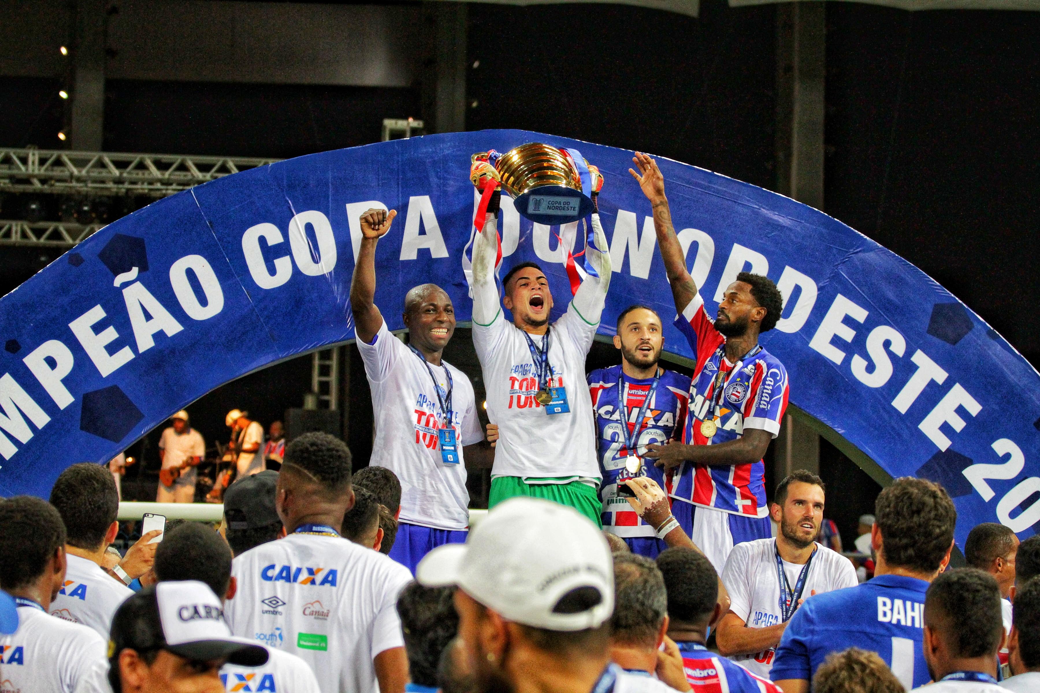 Nossa última vitória no Nordestão foi do Bahia, que trouxe a taça e o título de melhor artilheiro para Regis. A final foi um empate de 1x1 com o Sport.