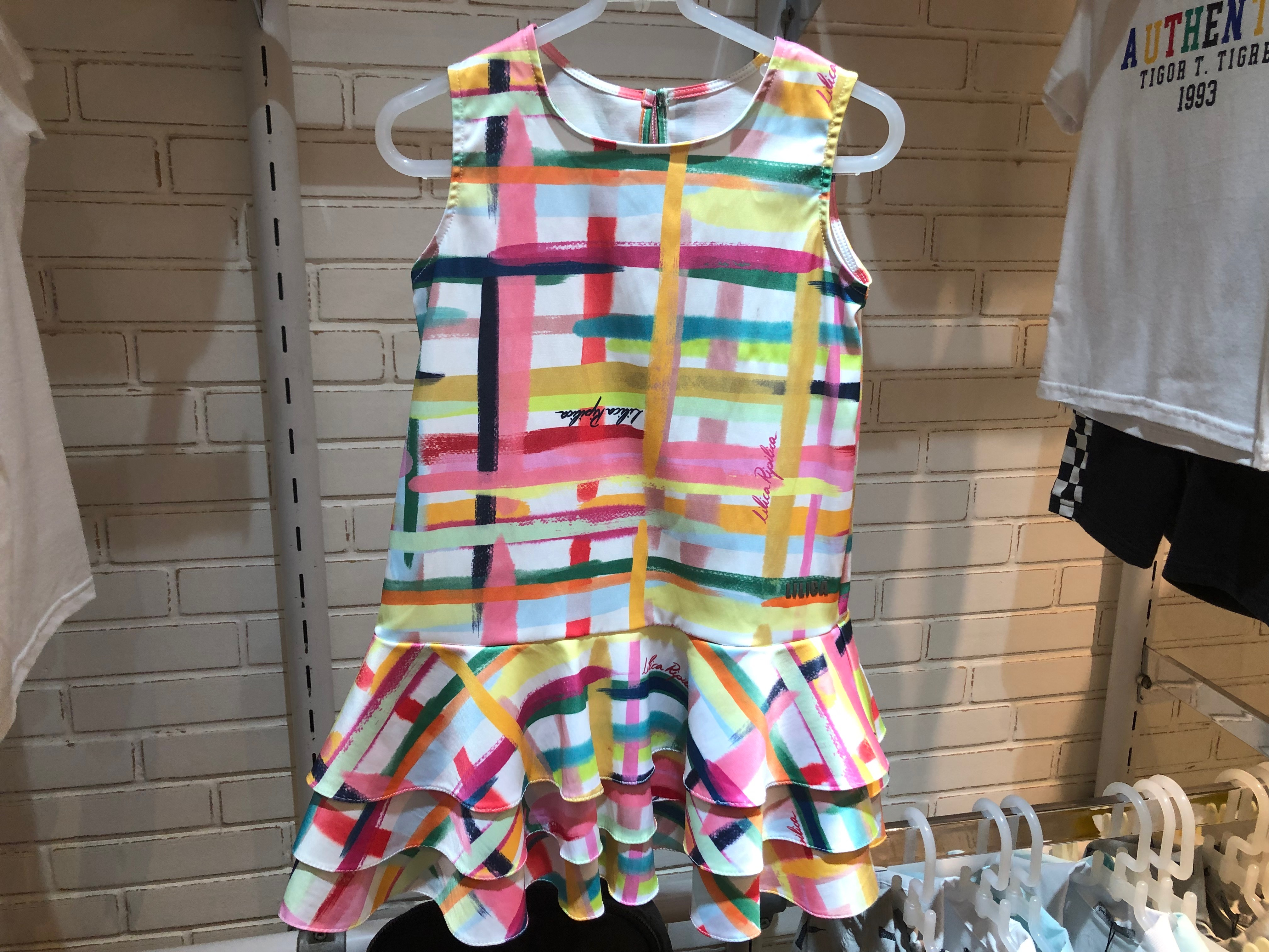 Vestido estampado (Lilica e Tigor - Salvador Shopping) de R$ 367 por R$ 183,5 (50%)
