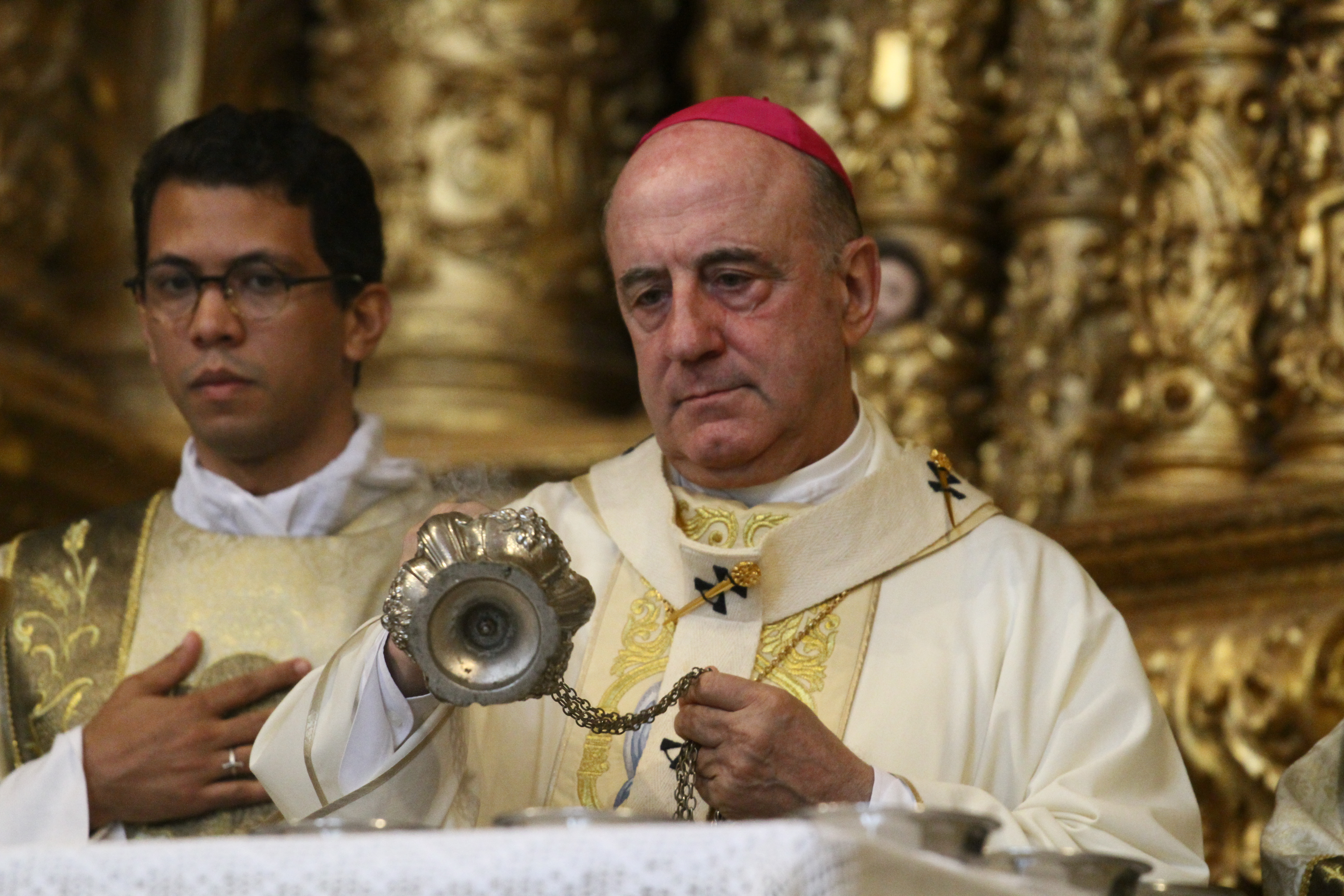Aniversário de 75 anos de Dom Murilo Krieger e reabertura da Catedral Basílica, em 2018