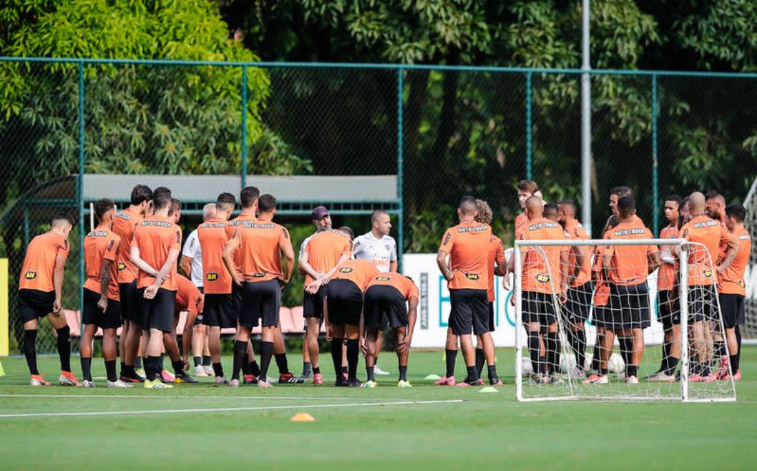 Elenco do Atlético-MG é um dos que terá redução salarial durante as férias