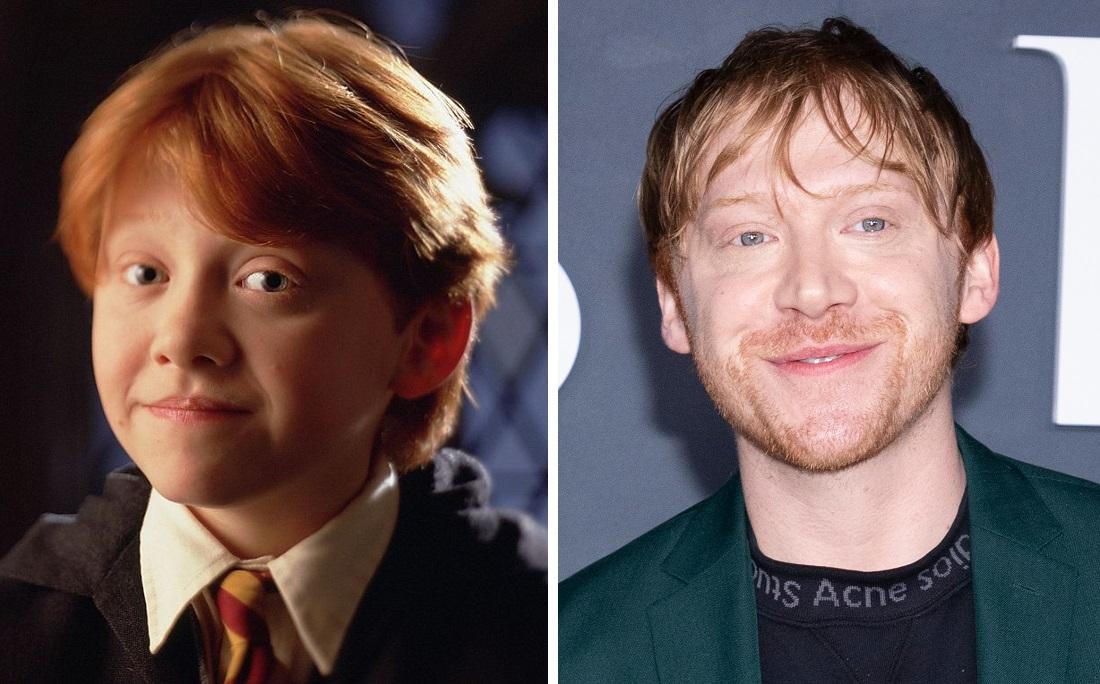 Rupert Grint no primeiro filme de Harry Potter e atualmente: ator será pai